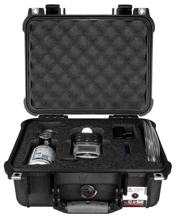 QRAE 3 4-Gas Detector inCase Calibration Kit