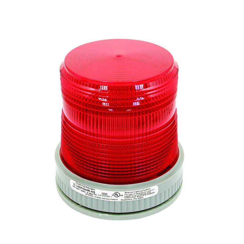 Fixed System Red Beacon Strobe Light